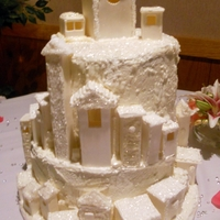 Wedding Cake   Lord of the Rings themed Cake