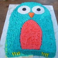 Amilia's 2Nd Bd At the age of 2, Amelia was very opinionated, and insisted that her birthday owl was to be teal and bright pink, her favorite colors. The...