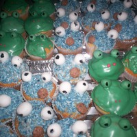 Little Frogs And Cookie Monsters for my daughter's Canival-Party at school