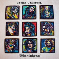 "Cookie Collection ""musicians"""