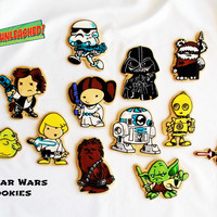 Star Wars Cookies! My version...