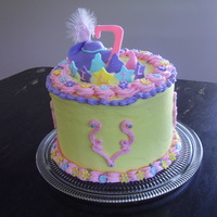 Three Musketeers (Barbie) Cake Daughter's 7th birthday cake and she was in love with the barbie three musketeers movie at the time. . .so I did best I could with a...