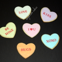 Sweetheart Sugar Cookies Sweetheart sugar cookies for Valentine's Day
