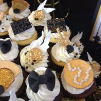 Great Gatsby Cupcakes