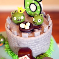 Angry Birds Cake And Cake Pops AppleMark