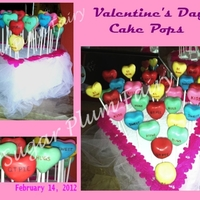 Valentine's Conversation Cake Pops Thanks to the idea in the book, CAKE POPS by Bakerella, I made these for my daughter's Valentine's Day party at school (got a...