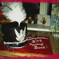 High School Marching Band Shako Made for the HS Marching Band to which my daughter is a member. When I walked in with this they thought it was her shako and wondered why I...