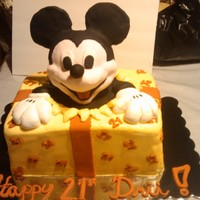 Mickey   RV cake. Head our of RKT.
