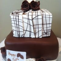 My First Modeling Chocolate Cake!