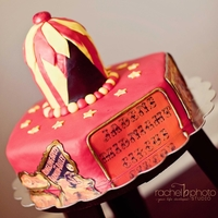 Midnight Circus Cake