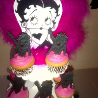Betty Boop Cup Cakes
