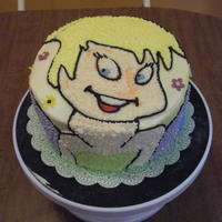 Tinkerbell   all buttercream