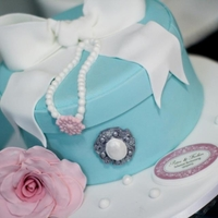 Tiffany Hat Box Cake Hat Box Cake