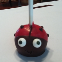 Ladybug Cake Pops My first attempt at cake pops. They weren't too difficult, and they tasted great! I used a really moist chocolate cake and a small...