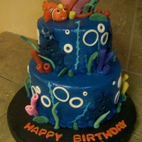 Under The Sea Inspiration from an individual on cake central. Thank You for looking...