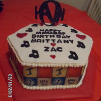 Hanson Birthday Cake birthday cake for my daughter is turned 26 and still loves hanson.(yes for you 90's kids those mmmbop boys) we still go to their shows...