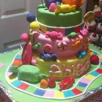 Candy Land Birthday Cake Candy Land Birthday Cake