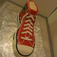 Red High Top Tennis Shoe Made this again for a class recently. I now have instructions with step by photographs included - please PM me with your email address and...