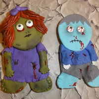 Zombies Can Be Sweet! Zombie Cookie Twins!