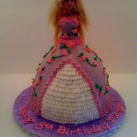 Barbie Cake All Buttercream