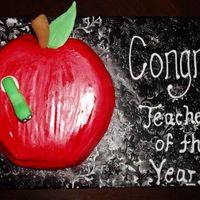 Teacher Of The Year Apple