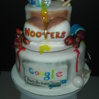 Hooters Interest Cake