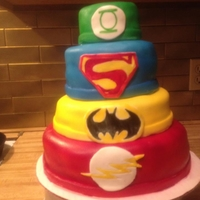 Superhero Birthday Cake Thanks for all the inspiration CCers!!!