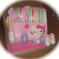 Hello Kitty Diaper Bag MMF