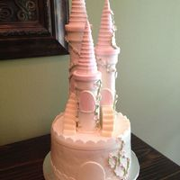 "8 Castle Cake To Be Used Atop A Cupcake Tower Jessicakes Tutorial On Her Blog Was A Great Help Wasc Covered In Mmf All Decorations Ar 8"" castle cake to be used atop a cupcake tower. Jessicakes tutorial (on her blog) was a great help! WASC covered in MMF. All..."
