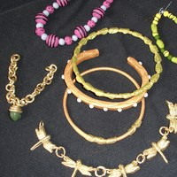"Jewelry   Made this gumpaste ""jewelry"" for a demo I did a couple of weeks ago."