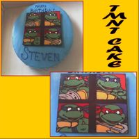 Teenage Mutant Ninja Turtles Choc transfer tmnt, got the idea from some tmnt cakes on here. Thanks for looking!