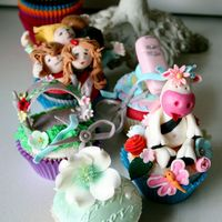 Disney Shoot Cupcakes