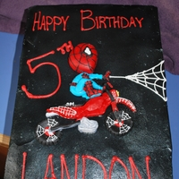 Motocross Spiderman