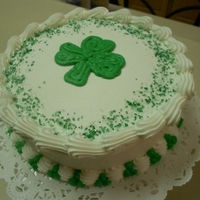 St. Patty's Day   St. Patty's day cake.