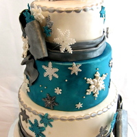 Winter Wonderland 30Th Birthday Cake