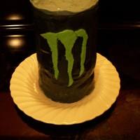 Monster Soda Cake  I made this cake a couple of ways. I tested using Monster soda in the batter like the weight watchers use a spice cake with a 12 oz can of...