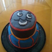 Thomas Cake My son's 3rd bday cake