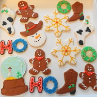 Cowboy Christmas My version of some Christmas cookies sweetsugarbelle did a while back......Love her work and tutorials!