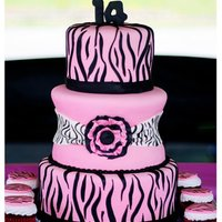 Hot Pink Zebra Made this cake for a family member!! She loved it! I have to say it was a super fun one to make! We have some details on how we made it on...