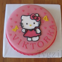 Hello Kitty With Butterfly