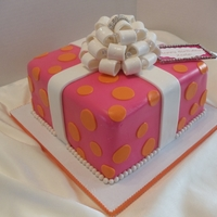 Pink And Orange Gift Box