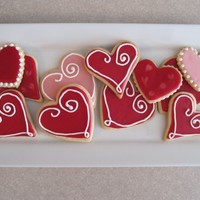 Valentines Day Sugar Cookies Valentine's Day Sugar Cookies