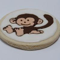Monkey Cookie Critique subgroup member: I used a template to outline the monkey and then hand to hand draw the details.