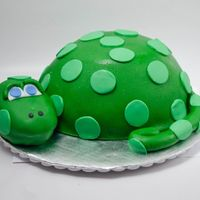 Dinosaur Critique Group Member: My hubby's friend needed a dinosaur cake for his son. I did some looking around and came up with this little...