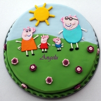 Peppa Pig SUgarpaste decoration