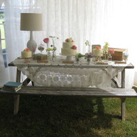 Wedding Cake A cake we did this weekend. Love how they did this cake table!