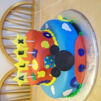 Mickey Mouse Cake Mickey Mouse Fun House Cake