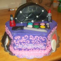Purse/make Up Bag Cake