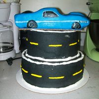 69 Shelby Gt500 18Th Birthday Cake