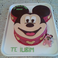 Mickey Mouse Cake Mickey Mouse cake